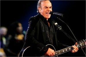 Neil Diamond performs at the EnergySolutions Arena Friday December 19, 2008. Chris Detrick/The Salt Lake Tribune