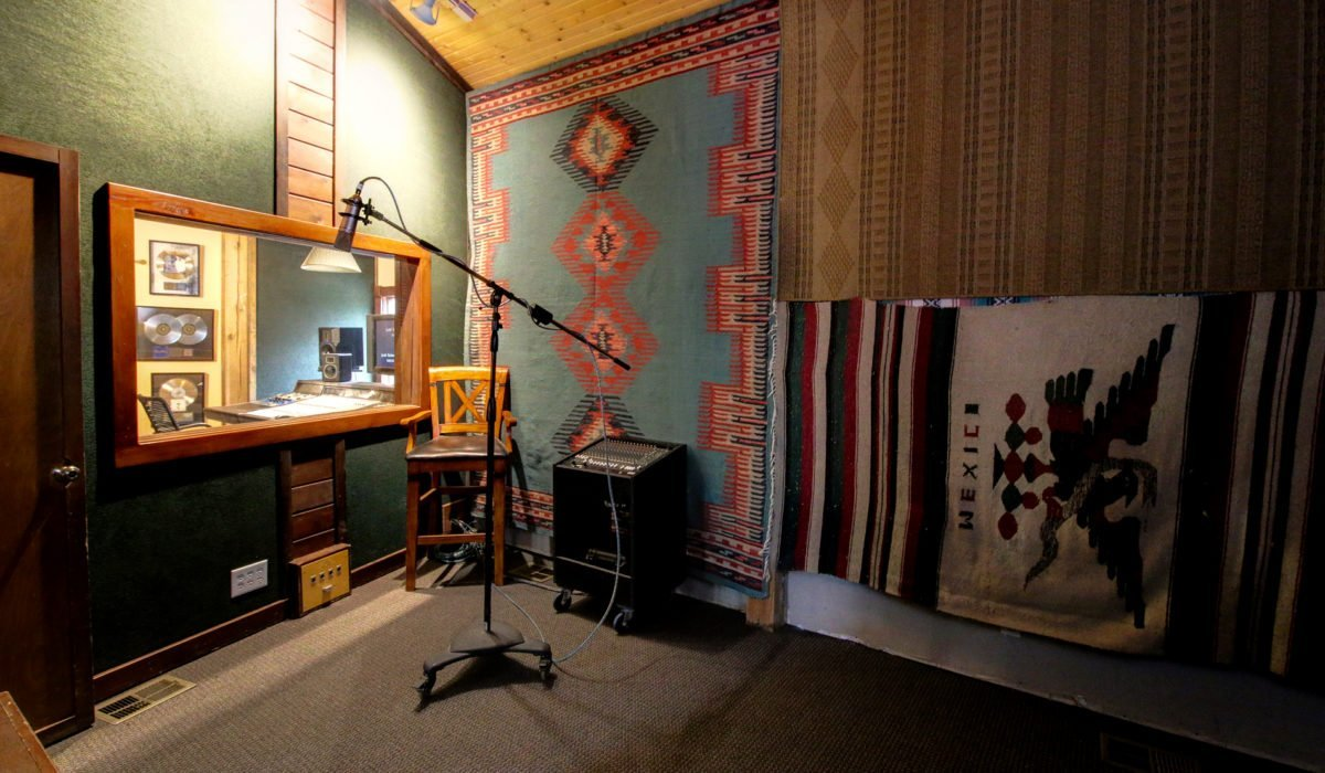 "Dark Horse Recording ""The Barefoot"" Isolation Room"