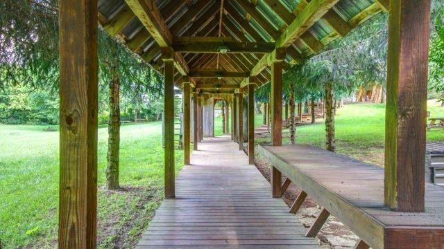 Dark Horse Recording Boardwalk, Gazebo, and picnic area