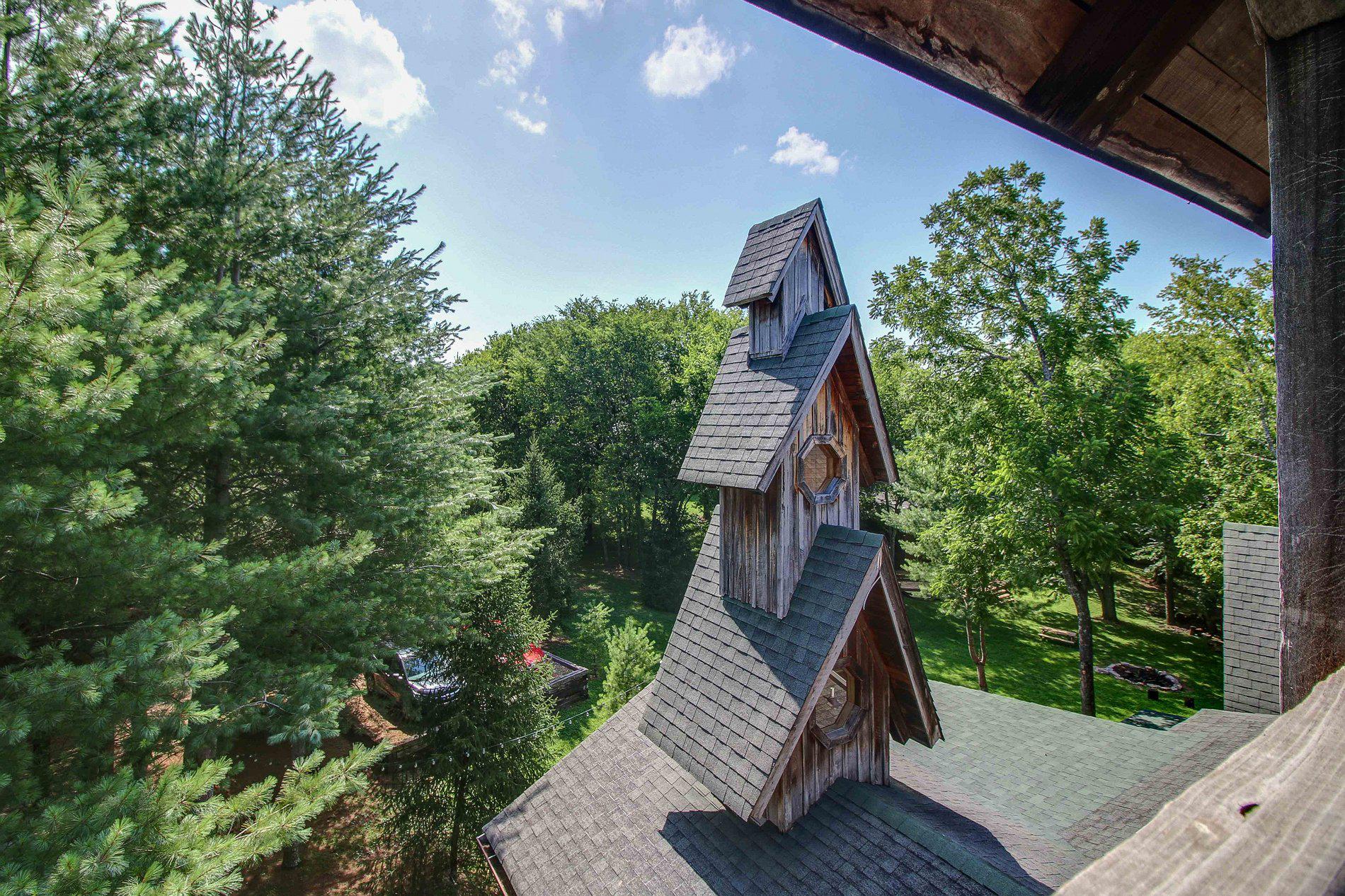 Dark Horse Recording Main Estate House Steeple