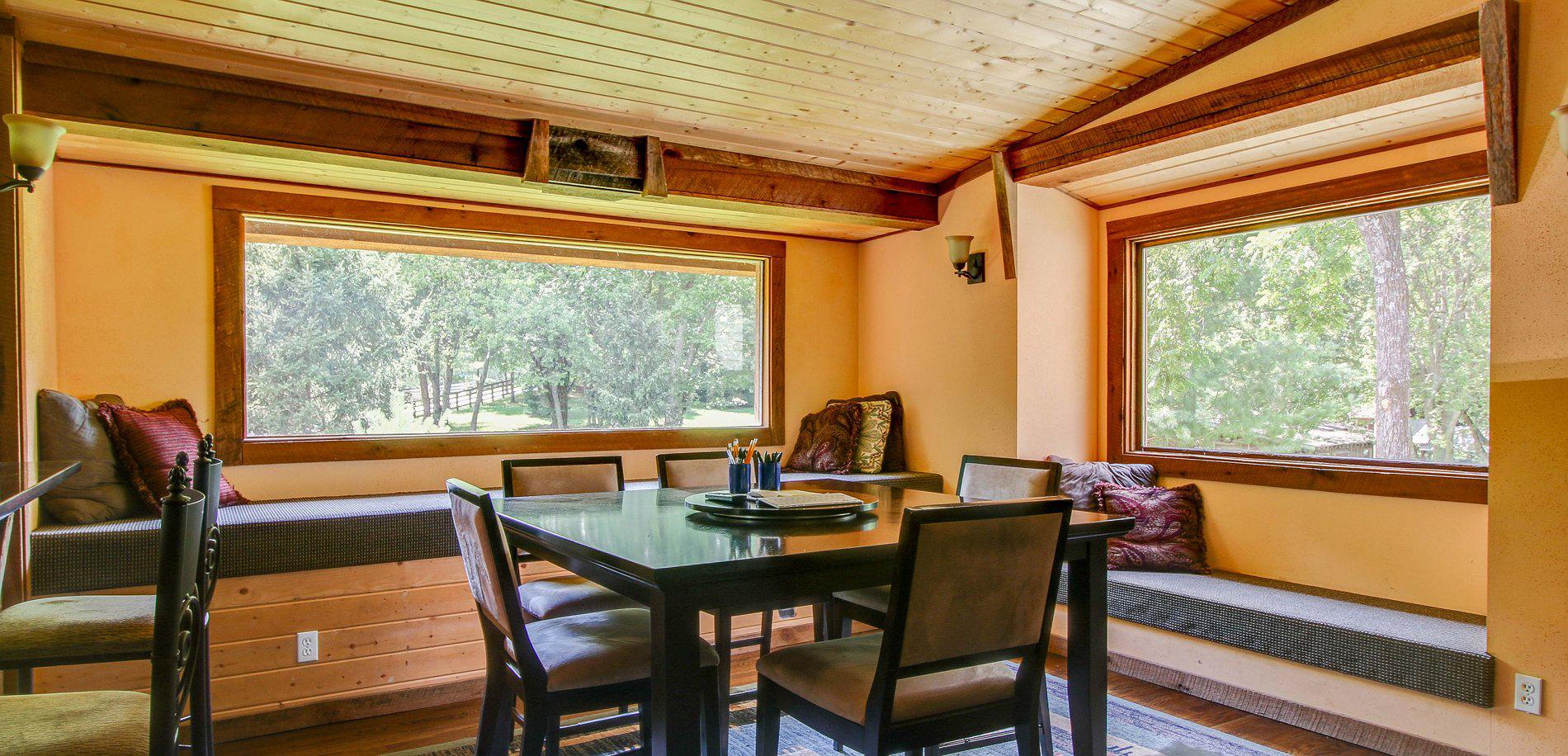 Dark Horse Recording Main Estate House Breakfast Room