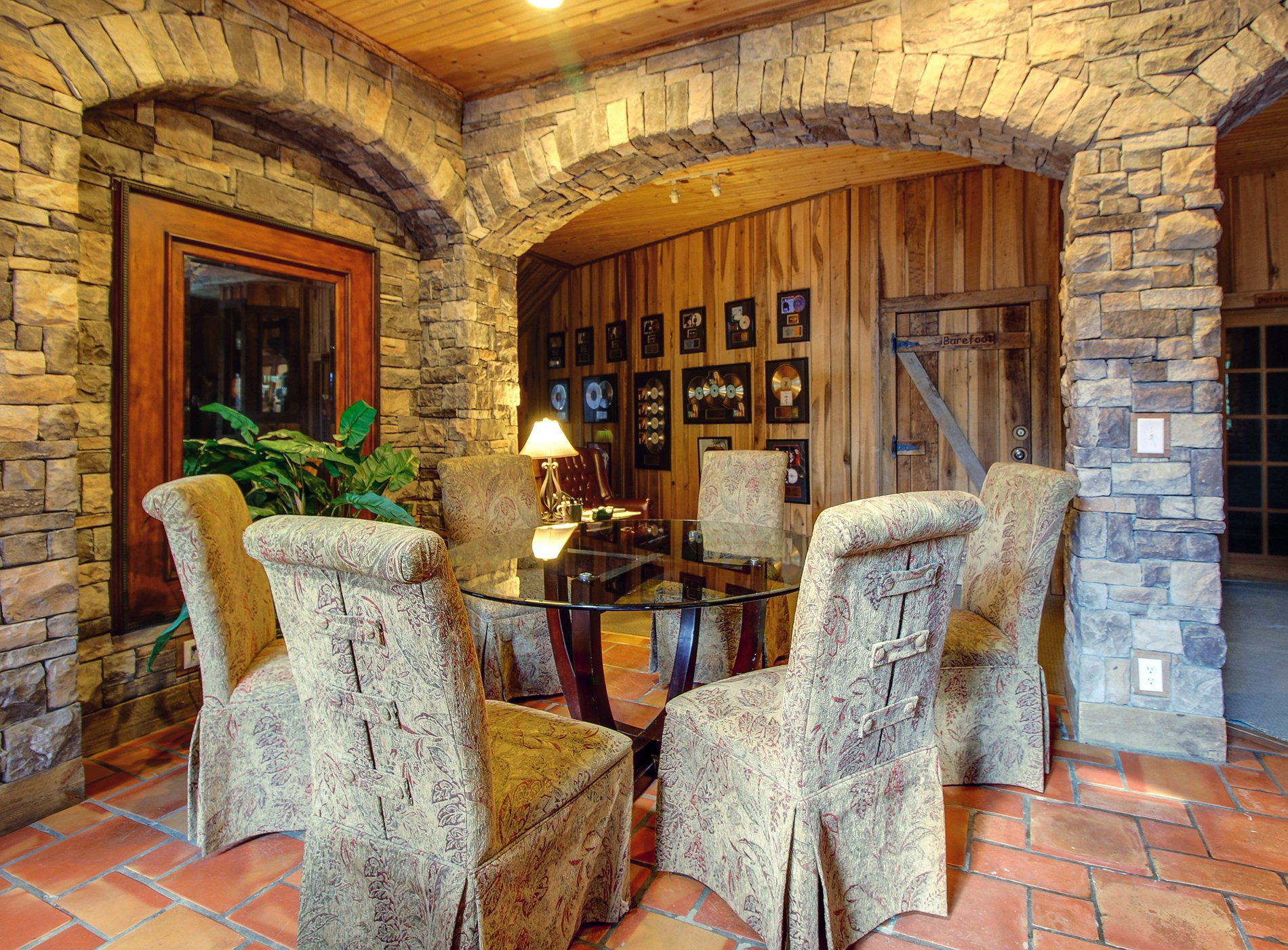 Dark Horse Recording Main Estate House Dining Room