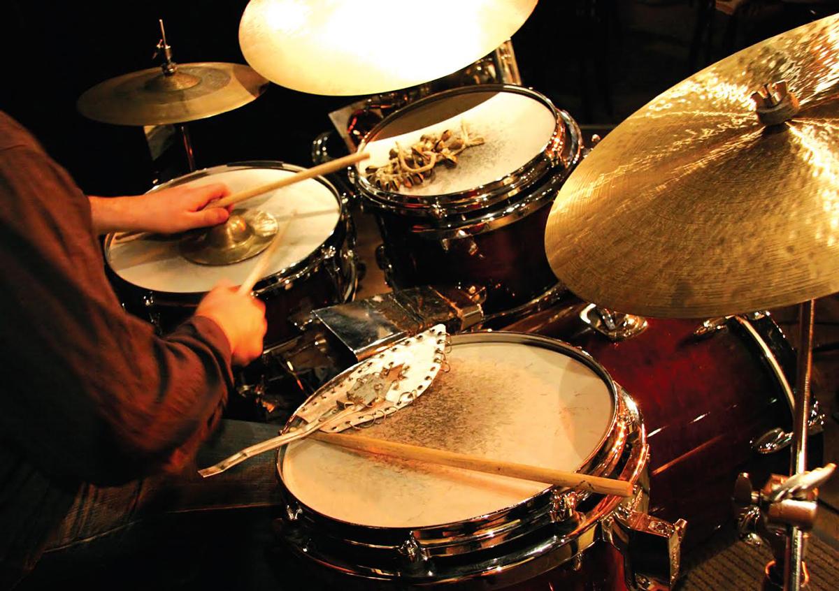 Dark Horse Recording Pearl Drums